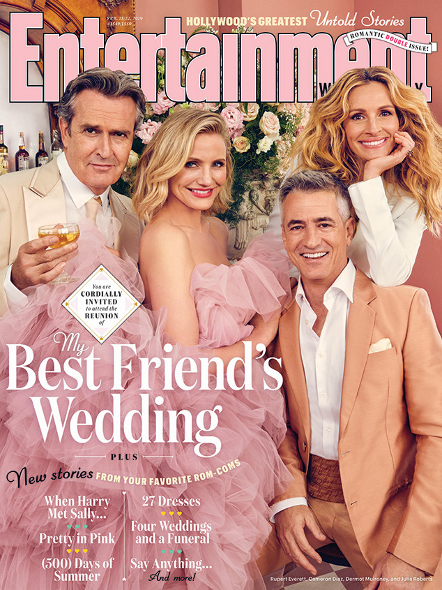Julia Roberts, Cameron Diaz, Rupert Everett, Dermot Mulroney,My Best Friend's Wedding
